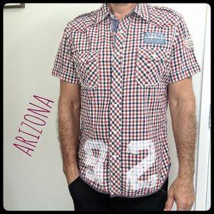 ARIZONA Checkered Print Shirt